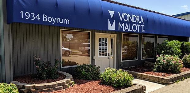 Vondra Malott Front Entry and door